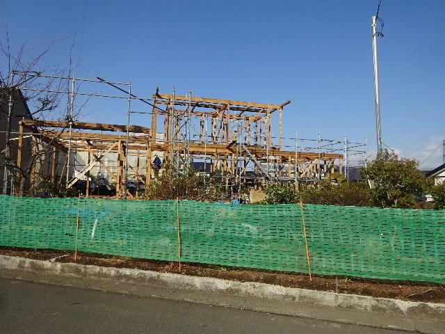 向中野の家 フルリフォーム工事 大工工事がスタート!_f0105112_04165969.jpg