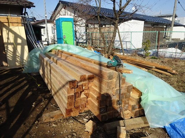 向中野の家 フルリフォーム工事 大工工事がスタート!_f0105112_04165991.jpg