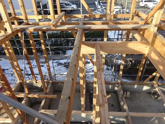 向中野の家 フルリフォーム工事 大工工事がスタート!_f0105112_04375108.jpg
