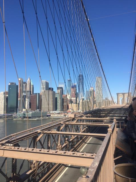 快晴の日曜に〜ブルクッリン橋からWTCへ〜恵方歩き旅_f0095325_10183977.jpg