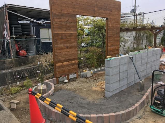マサミガーデンお庭改装中☆2