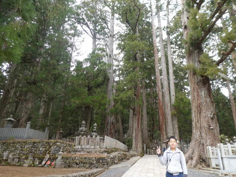 高野山へ行ってきました・・・孫とバアと三人行脚_c0108460_21000023.jpg