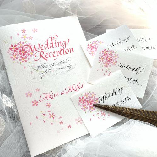 サクラの季節の結婚式のために_b0105897_13451649.jpg
