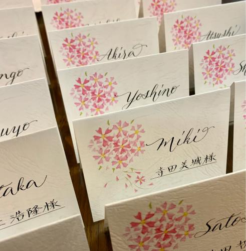 サクラの季節の結婚式のために_b0105897_13452440.jpg