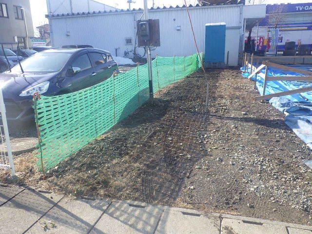 西仙北の家 解体工事と大工の墨付けが進行中。_f0105112_04173353.jpg
