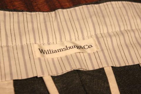 都会的なスラックスブランド「Williamburg&Co.」ご紹介_f0191324_08194877.jpg