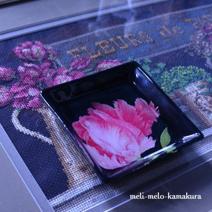 ◆【レッスンレポート】今日も写真を撮り忘れたので・・・ガラストレーを色々ご紹介!_f0251032_16310845.jpg