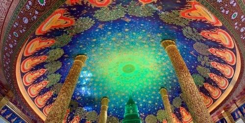 素晴らしいワットパークナムの天井画_b0325640_16292912.jpg
