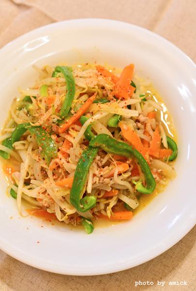 3月27日 水曜日 花椒風味の野菜炒め_b0288550_10532503.jpg