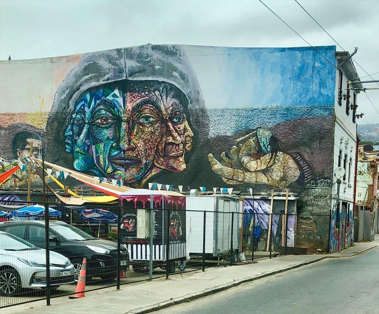 中南米21日間の旅 / 1 アートな街 バルパライソ@チリ_a0092659_18360975.jpg