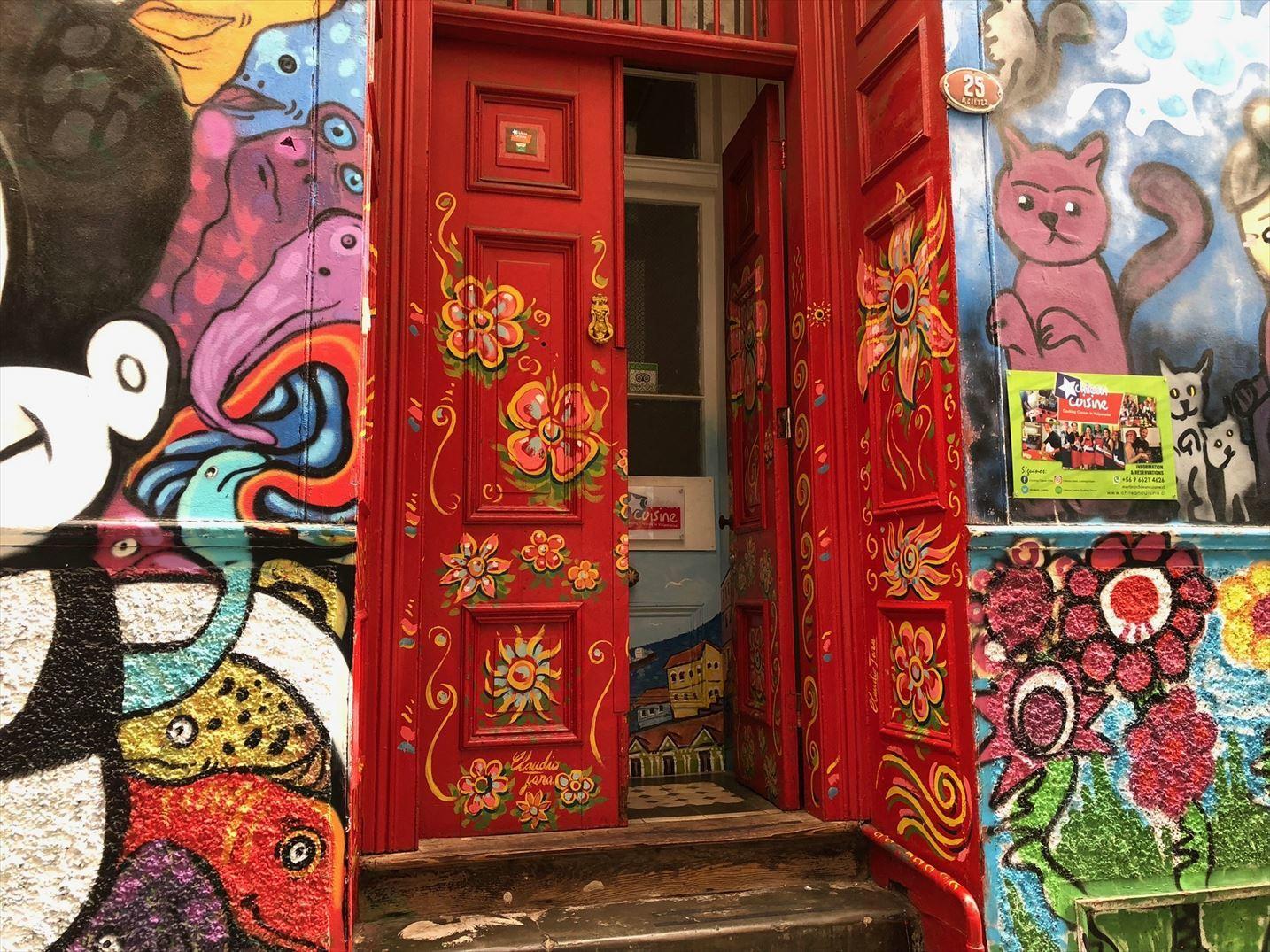 中南米21日間の旅 / 1 アートな街 バルパライソ@チリ_a0092659_18363183.jpg