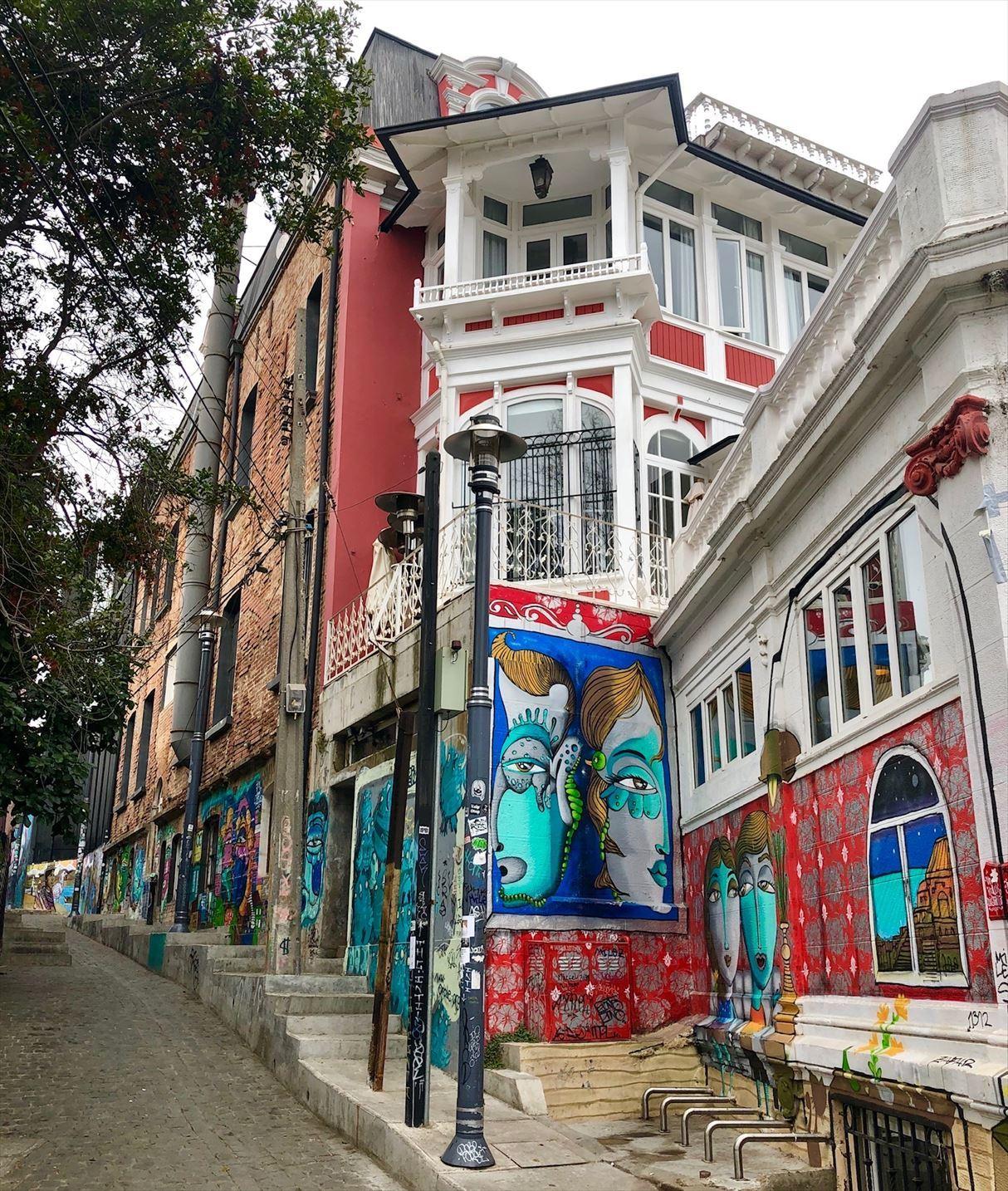 中南米21日間の旅 / 1 アートな街 バルパライソ@チリ_a0092659_18495074.jpg
