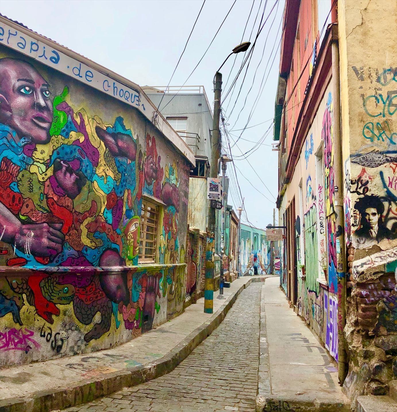 中南米21日間の旅 / 1 アートな街 バルパライソ@チリ_a0092659_21481678.jpg