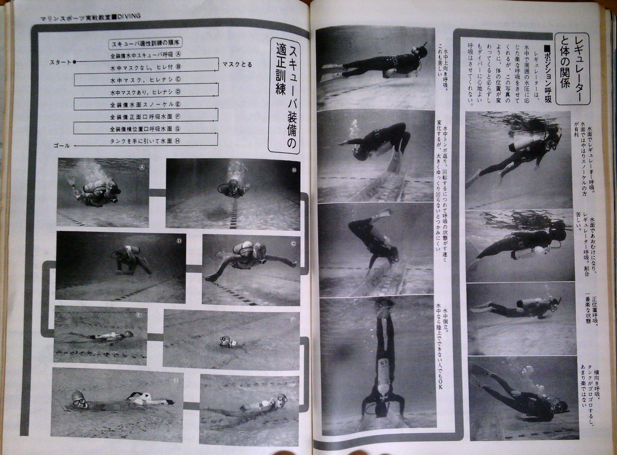 0326 ダイビングの歴史58 海の世界 1972-01_b0075059_13392907.jpg