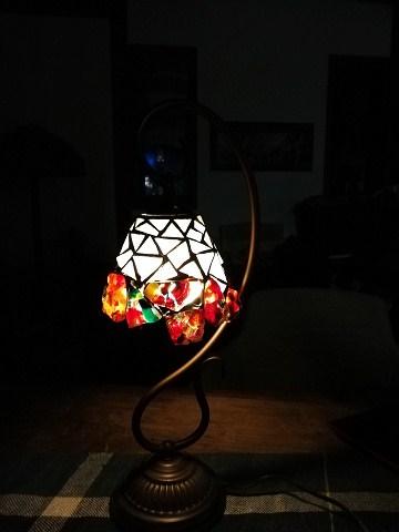 生徒さんのカレットのランプ 完成 _a0278866_1021143.jpg