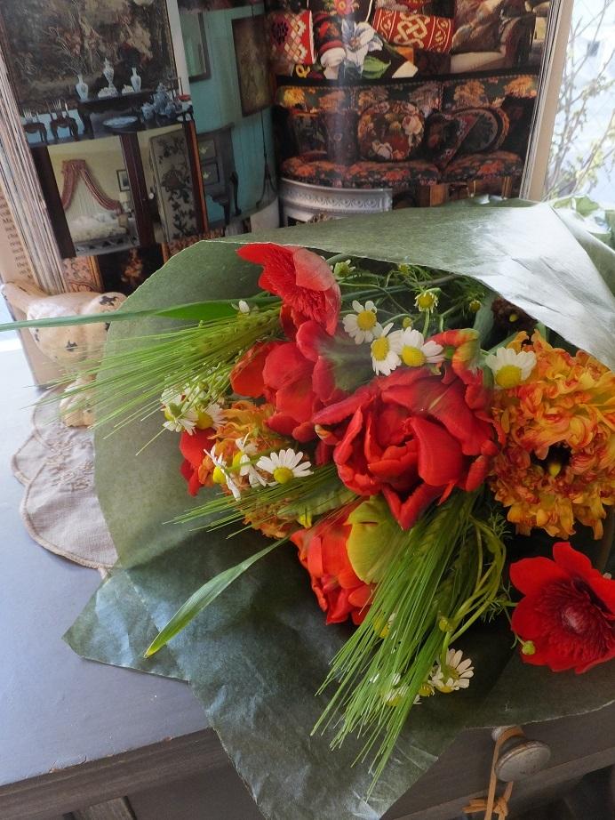 オークリーフ(小ぶりな春の花束)_f0049672_13041524.jpg