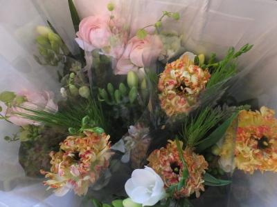 オークリーフ(小ぶりな春の花束)_f0049672_13042005.jpg