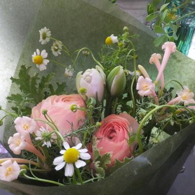 オークリーフ(小ぶりな春の花束)_f0049672_13042475.jpg