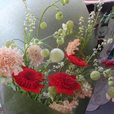 オークリーフ(小ぶりな春の花束)_f0049672_13043475.jpg