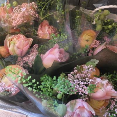 オークリーフ(小ぶりな春の花束)_f0049672_13045659.jpg