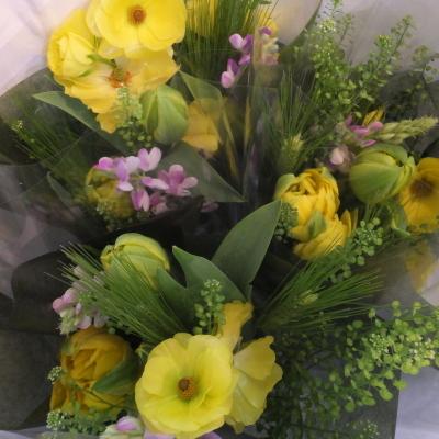 オークリーフ(小ぶりな春の花束)_f0049672_13050783.jpg