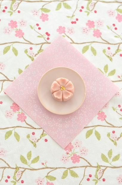 桜開花で、桜練り切り_d0025294_18123875.jpg