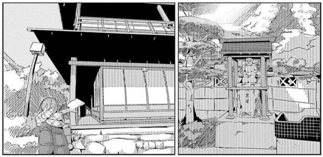 コミック「ゆるキャン△」舞台探訪002 志摩リン早川町の赤沢宿へ 第7巻第36話_e0304702_05152310.jpg