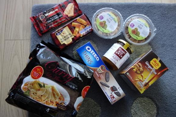 シンガポール2019 機内食と買ってきたもの_e0230011_17123018.jpg