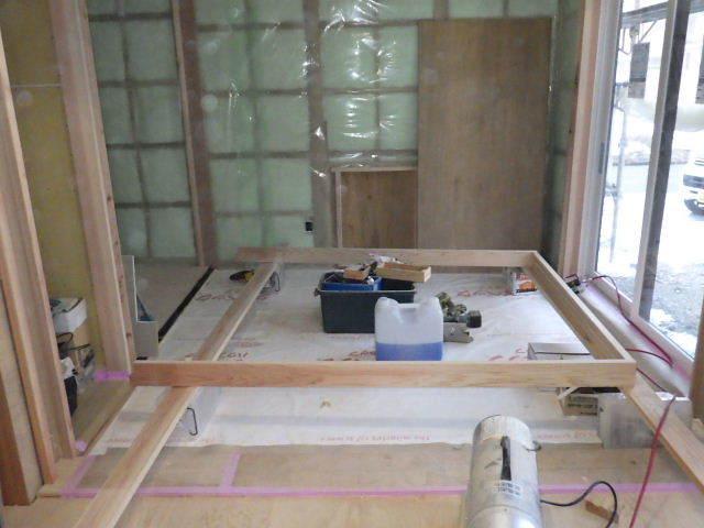 桜台の家 大工工事進行中です。_f0105112_04424352.jpg