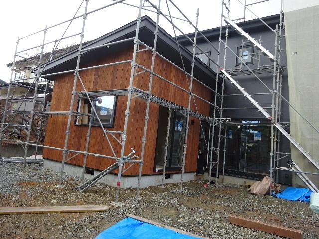 桜台の家 大工工事進行中です。_f0105112_04562025.jpg