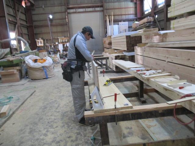 桜台の家 大工工事進行中です。_f0105112_04562079.jpg