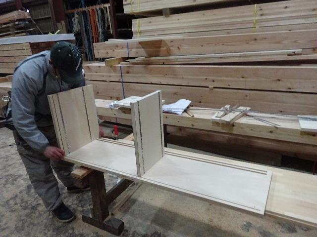 桜台の家 大工工事進行中です。_f0105112_04562090.jpg