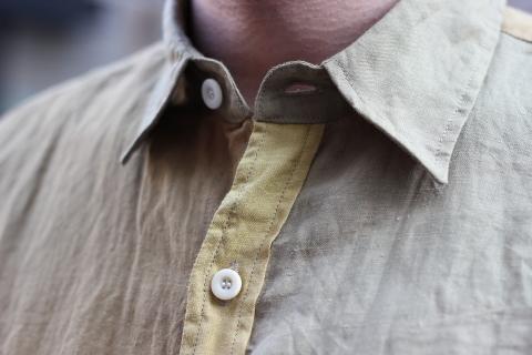 """「dip」真夏でも涼しく着れる\""""Ramie Crazy Shirt\""""ご紹介_f0191324_08324536.jpg"""