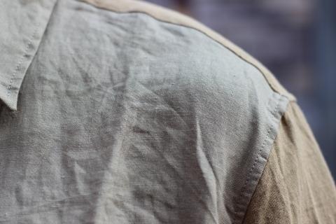 """「dip」真夏でも涼しく着れる\""""Ramie Crazy Shirt\""""ご紹介_f0191324_08325200.jpg"""