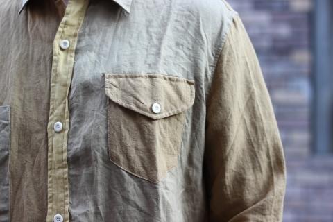 """「dip」真夏でも涼しく着れる\""""Ramie Crazy Shirt\""""ご紹介_f0191324_08330006.jpg"""