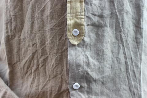"""「dip」真夏でも涼しく着れる\""""Ramie Crazy Shirt\""""ご紹介_f0191324_08331599.jpg"""