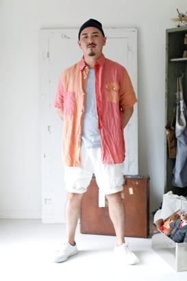 """「dip」真夏でも涼しく着れる\""""Ramie Crazy Shirt\""""ご紹介_f0191324_09130786.jpg"""