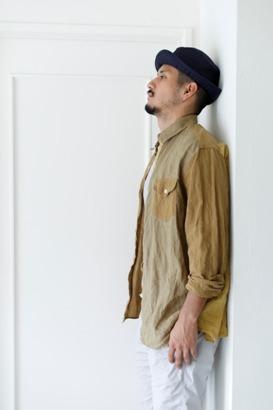 """「dip」真夏でも涼しく着れる\""""Ramie Crazy Shirt\""""ご紹介_f0191324_09131200.jpg"""