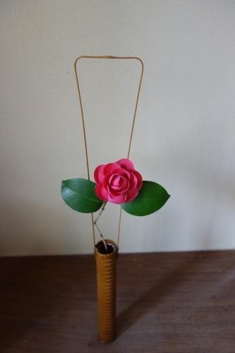 桜の箸置き&椿も咲いてまーす_a0197730_16031504.jpg