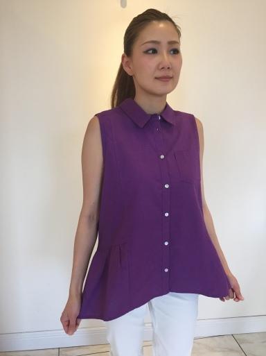 大きなパールが可愛いTシャツ_c0223630_15155332.jpg