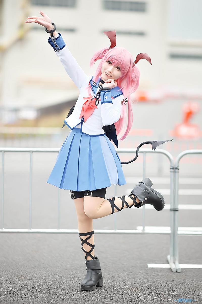 透城 セリカ さん[Serika.Toujou] 2019/03/23 ビッグサイト(TokyoBigSight) AJ 1日目 _f0130741_1501890.jpg