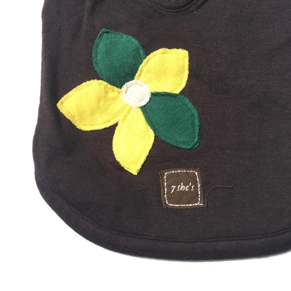 7 she\'s Organic Applique T セブンシーズ オーガニック アップリケTシャツ_d0217958_11182078.jpg