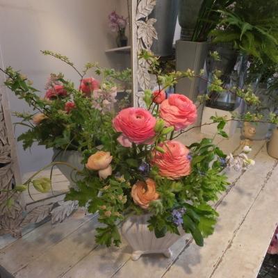 オークリーフ花の教室(山田さんの作品)_f0049672_19490384.jpg