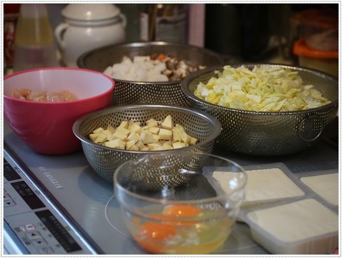 さくらと大のご飯がな~い。。。大急ぎで作ったけど、喜んで食べてくれるから作り甲斐あるよ!!_b0175688_20344369.jpg