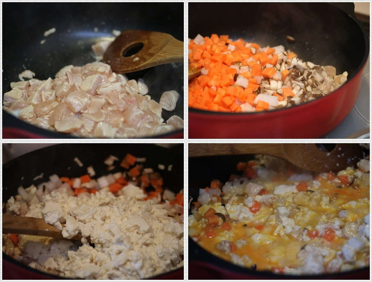 さくらと大のご飯がな~い。。。大急ぎで作ったけど、喜んで食べてくれるから作り甲斐あるよ!!_b0175688_20344750.jpg