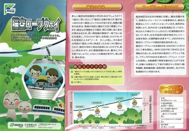 台湾旅行 (3) 猫空ロープウェイで登って樟樹歩道で茶畑を散歩する_f0100593_13303429.jpg