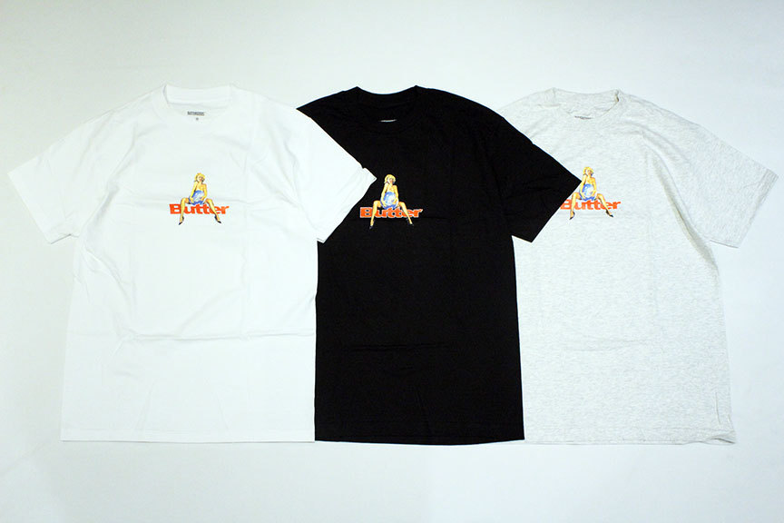 "BUTTER GOODS (バターグッズ) "" WORLD LOVE TEE \""_b0122806_13420059.jpg"