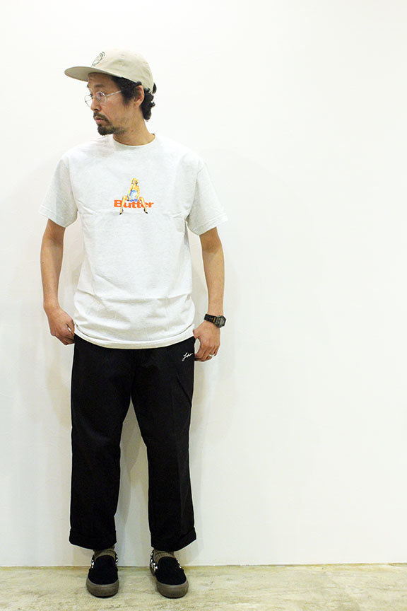 "BUTTER GOODS (バターグッズ) "" WORLD LOVE TEE \""_b0122806_13422528.jpg"