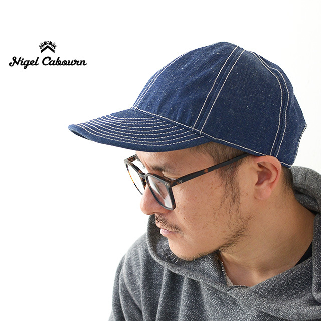 nigel cabourn [ナイジェル ケーボン] MECHANICS CAP DENIM [80381366010] メカニックキャップ デニム MEN\'S/LADY\'S_f0051306_17011795.jpg
