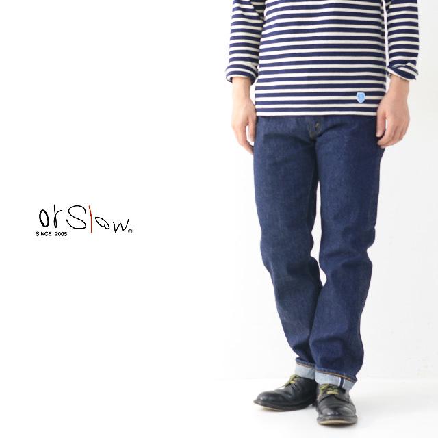 orslow[オアスロウ] 107 IVY FIT JEANS [01-0107-81] ONE WASH アイビーフィットジーンズ・デニム ワンウォッシュ MEN\'S_f0051306_17121259.jpg